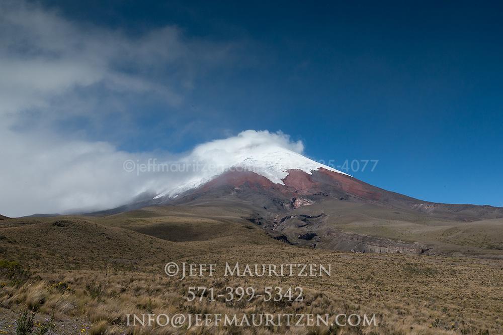Cotopaxi volcano in Ecuador, South America.
