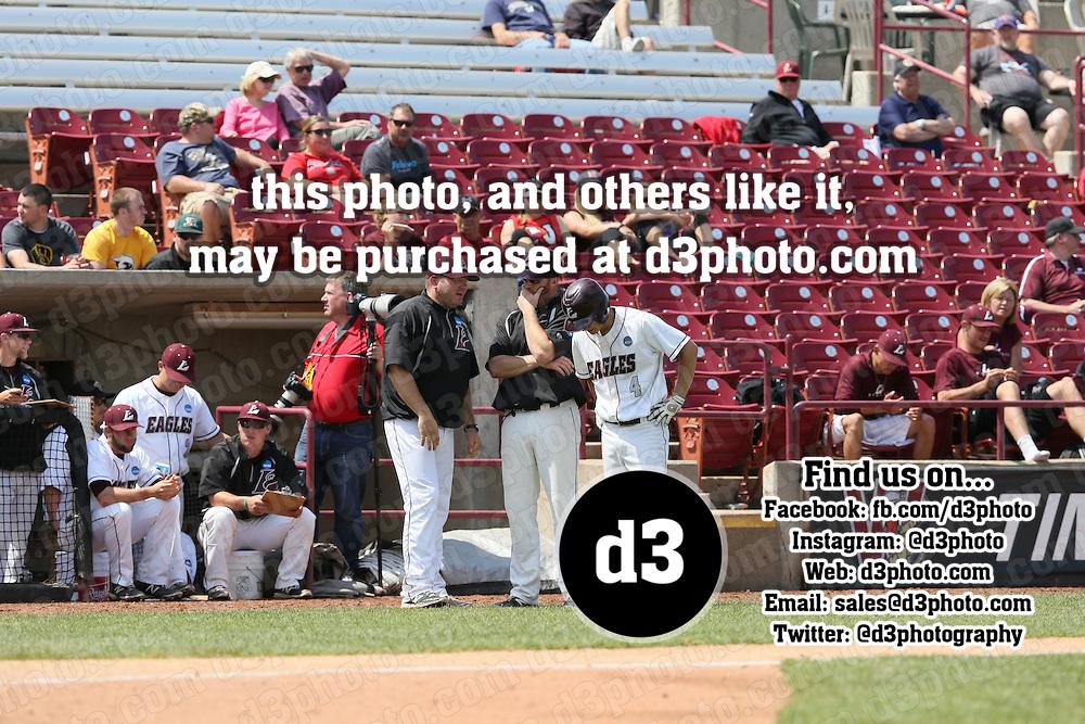 2015 NCAA Division III Baseball Championship at Fox Cities Stadium on 05-27-2015.