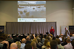 Pictured: Roseanna Cunningham <br />  Cabinet Secretary Roseanna Cunningham joined a number of speakers addressing the The Land Use and Environment Conference, entitled Rewarding the Delivery of Public Goods - How to Achieve This in Practice in Edinburgh Toiday.  The conference was coordinated by Scotland's Rural College. <br /> <br /> <br /> Ger Harley | EEm 28 November 2018