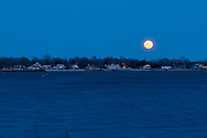 Full Moon, Orient, Long Island, New York