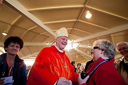 11/06/2012 Cardinal Marc Ouellet, Papal Legate at the 50th International Eucharistic Congress Dublin 2012, said Mass today (11 June 2012) at Our Lady Seat of Wisdom Church, University College Dublin. Pic Jason Clarke Photography