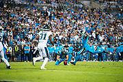 October 17, 2017: Carolina Panthers vs the Philadelphia Eagles. Graham Gano