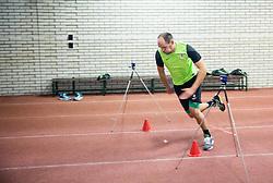 Aris Zarifovic during first training of NK Olimpija Ljubljana before spring season when presented Olimpija's new coach, on January 11, 2016 in ZAK stadium, Ljubljana, Slovenia. Photo by Vid Ponikvar / Sportida