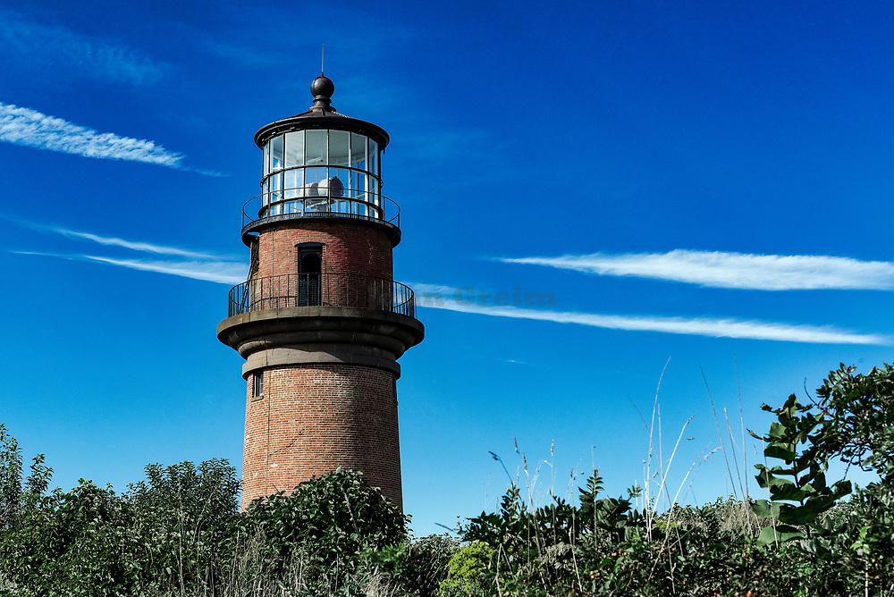 Gay Head Lighthouse, Aquinnah, Martha's Vineyard, Massachusetts, USA