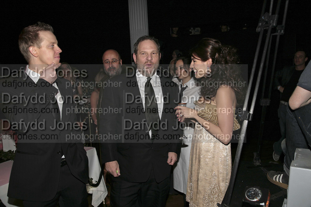 HARVEY WEINSTEIN AND KELLY BROOK, 6th Annual Lancªme Colour Designs Awards In association with CLIC Sargent Cancer Care.  Lindley Hall, Vincent Sq. London. 28 November 2006.  ONE TIME USE ONLY - DO NOT ARCHIVE  © Copyright Photograph by Dafydd Jones 248 Clapham Rd. London SW9 0PZ Tel 020 7733 0108 www.dafjones.com