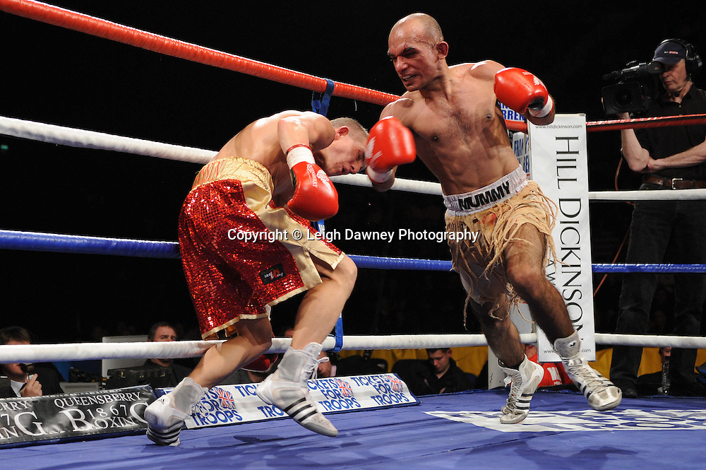 """Paul Butler defeats Anwar Alfadi at the Echo Arena, Lverpool,11th December 2010,Frank Warren.tv Promotions """"Return Of The Magnificent Seven"""" © Photo Leigh Dawney"""