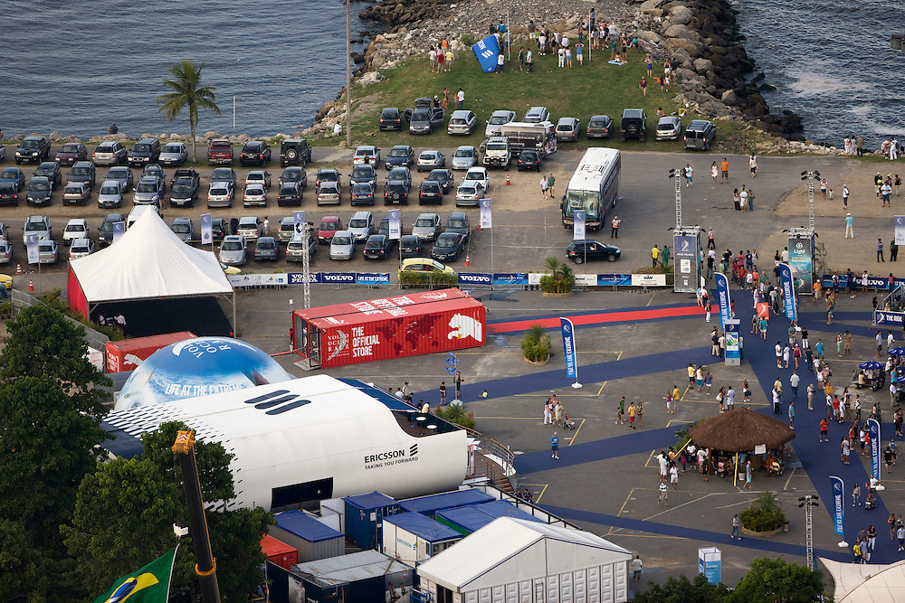 04APR09 The PUMA Official Store from the air, Rio de Janeiro stopover, Volvo Ocean Race 2008-09