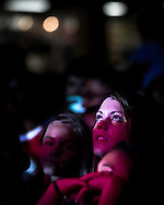 A google eyed young fan at a Plain White T's concert in Yokosuka Japan