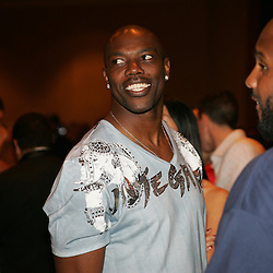 Terrell Owens wide receiver for the Dallas Cowboys at the Big Easy Billiard' Bash a celebrity pool tournament and party hosted by NFL Superstar Reggie Bush and NBA Superstar (SHAQ) Shaquille O'Neal at the Hilton Riverside Hotel in New Orleans, Louisiana on February 15th 2008.