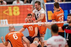 25-09-2016 NED: EK Kwalificatie Nederland - Turkije, Koog aan de Zaan<br /> Jeroen Rauwerdink #10, Dirk Sparidans #5