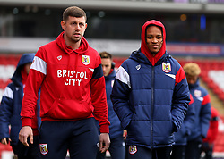 Frank Fielding and Bobby Reid of Bristol City arrive at Barnsley - Mandatory by-line: Robbie Stephenson/JMP - 30/03/2018 - FOOTBALL - Oakwell Stadium - Barnsley, England - Barnsley v Bristol City - Sky Bet Championship