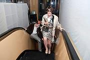 ALEX EAGLE; AS ANNA WINTOUR, Browns Focus Halloween party. Shepherds Bush pavilion. Shepherds Bush. London. 30 October 2009