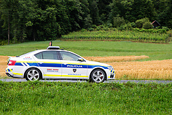 Police car during 5th Stage of 26th Tour of Slovenia 2019 cycling race between Trebnje and Novo mesto (167,5 km), on June 23, 2019 in Slovenia. Photo by Matic Klansek Velej / Sportida