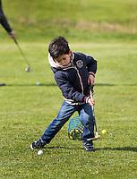 HILVERSUM - OPEN GOLFDAG SPANDERSBOSCH.  , kennismaken met golf tijdens Open Golfdag . COPYRIGHT KOEN SUYK