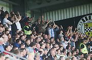 The more than 1000 traveling Dundee fans were in fine voice at St Mirren Park - St Mirren v Dundee, SPFL Premiership at St Mirren Park<br /> <br />  - © David Young - www.davidyoungphoto.co.uk - email: davidyoungphoto@gmail.com