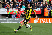 Burton Albion midfielder Robbie Weir on the ball during the Sky Bet League 1 match between Burton Albion and Barnsley at the Pirelli Stadium, Burton upon Trent, England on 16 April 2016. Photo by Aaron  Lupton.