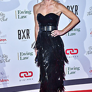 Nell McAndrew arrive at Float Like A Butterfly Ball for Caudwell Children Charity at Grosvenor House Hotel on 16 November 2019, London, UK.