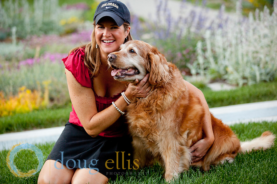 Gwynne Ellis and Katie, Pet Portraits in Denver, CO.