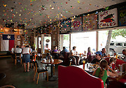8-12-10 --- Interior view of AllGood Cafe