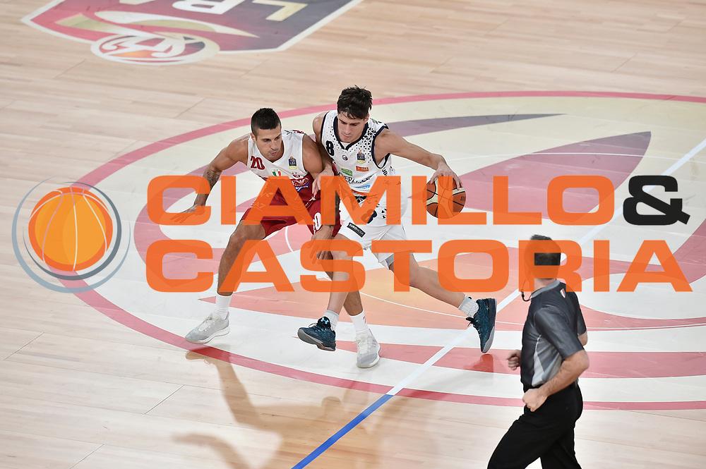 Laquintana Tommaso Cinciarini Andrea<br /> AX Armani Exchange Milano - Germani Basket Brescia<br /> Zurich Connect Supercoppa 2018-2019<br /> Lega Basket Serie A<br /> Brescia 29/09/2018<br /> Foto M.Matta/Ciamillo & Castoria