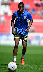 Bernard Mensah of Bristol Rovers - Mandatory by-line: Alex James/JMP - 21/04/2018 - FOOTBALL - Aesseal New York Stadium - Rotherham, England - Rotherham United v Bristol Rovers - Sky Bet League One