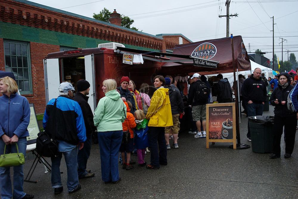 Vendors at the 40th Annual Fremont Fair 2011.