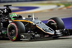 September 16, 2016 - Singapur, Singapur - Motorsports: FIA Formula One World Championship 2016, Grand Prix of Singapore, .#27 Nico Hulkenberg (GER, Sahara Force India F1 Team) (Credit Image: © Hoch Zwei via ZUMA Wire)