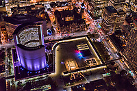 Nathan Phillips Square feat. New City Hall (left) & Old City Hall (top center)