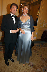 MR JOHN & LADY CAROLYN WARREN at the Cartier Racing Awards 2006 held at the Four Seasons Hotel, Hamilton Place, London on 15th November 2006.<br />