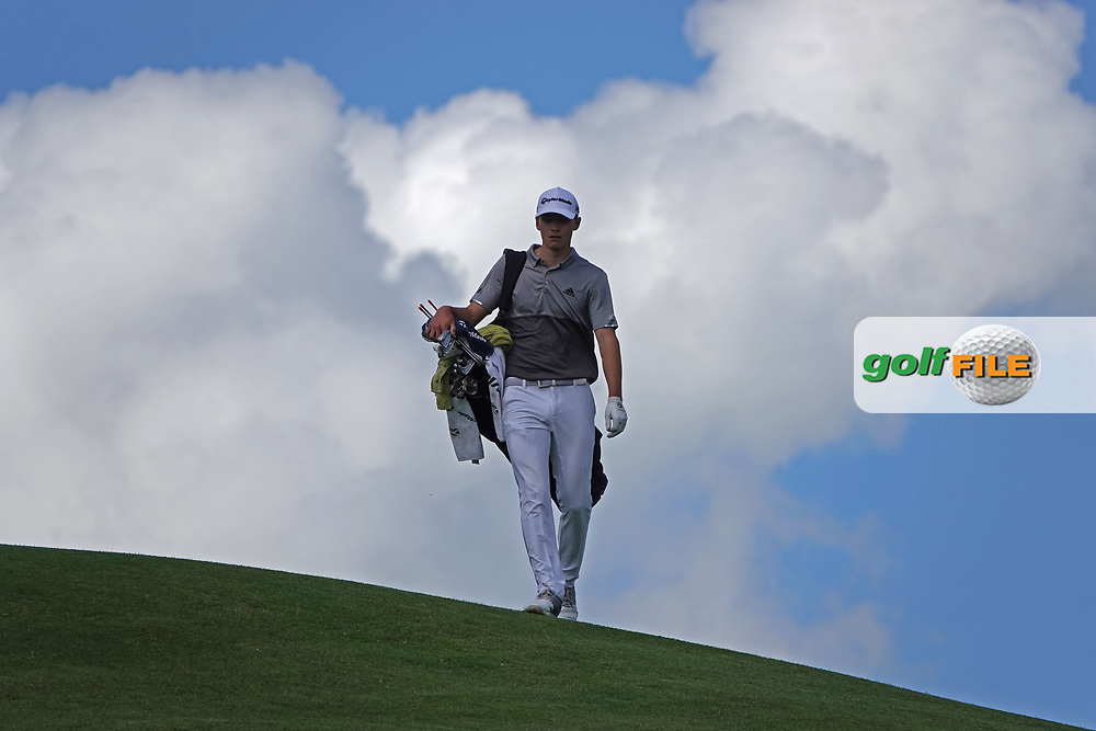 Nicolai Hojgaard (DEN) in action during the third round of the Hauts de France-Pas de Calais Golf Open, Aa Saint-Omer GC, Saint- Omer, France. 15/06/2019<br /> Picture: Golffile | Phil Inglis<br /> <br /> <br /> All photo usage must carry mandatory copyright credit (© Golffile | Phil Inglis)