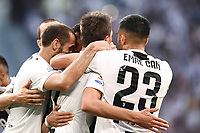 esultanza gol Mario Mandzukic Goal celebration <br /> Torino 29-09-2018 Allianz Stadium Football Calcio Serie A 2018/2019 Juventus - Napoli <br /> Foto Matteo Gribaudi / Image Sport  / Insidefoto