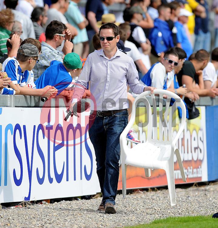 Alistair Durden - Photo mandatory by-line: Neil Brookman/JMP - Mobile: 07966 386802 - 18/07/2015 - SPORT - Football - Bristol - Memorial Stadium - Pre-Season Friendly