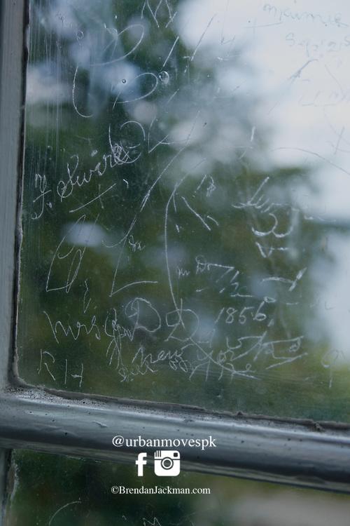 Ancient Graffiti, Dinis Cottage, Killarney, Kerry, Ireland