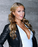 Paris Hilton attends the Charlotte Ronson presentation during the Mercedes-Benz Fall/Winter 2015 shows at the Pavilion in Lincoln Center in New York City, New York on February 13, 2015.