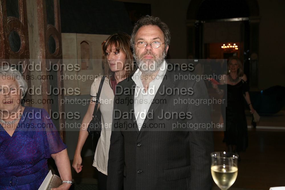 FIONA RAE AND MATHEW COLLINGS, 240th Royal Academy Summer Exhibition. Annual dinner. Piccadilly. London. 3 June 2008.  *** Local Caption *** -DO NOT ARCHIVE-© Copyright Photograph by Dafydd Jones. 248 Clapham Rd. London SW9 0PZ. Tel 0207 820 0771. www.dafjones.com.