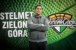 Saso Filipovski, head coach of basketball club Stelmet BC Zielona Gora (POL) posing in CRS Hala Zielona Góra, on January 21, 2016 in Zielona Gora, Poland. Photo by Vid Ponikvar / Sportida