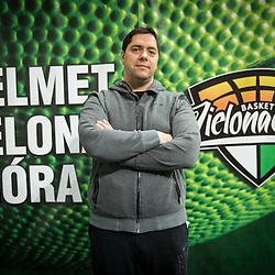 20160121: POL, Basketball - Saso Filipovski, head coach of Stelmet BC Zielona Gora