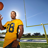 Augustana football player Diego Oquendo is up for a national award for his citizenship and volunteerism off the field.