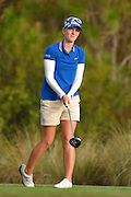 Marion Ricordeau during the final round of the LPGA Qualifying Tournament Stage Three at LPGA International in Daytona Beach, Florida on Dec. 6, 2015.<br /> <br /> <br /> ©2015 Scott A. Miller
