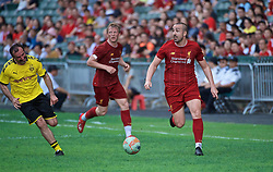 HONG KONG, CHINA - Saturday, June 8, 2019: Liverpool Legends' Jose Enrique during an exhibition match between Liverpool FC Legends and Borussia Dortmund Legends at the Hong Kong Stadium. (Pic by Jayne Russell/Propaganda)