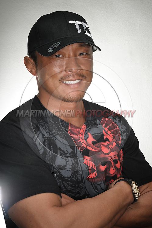 A portrait of mixed martial arts athlete Yoshihiro Akiyama