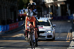Leonie Bos (NED) at UCI Road World Championships 2019 Junior Women's TT a 13.7 km individual time trial in Harrogate, United Kingdom on September 23, 2019. Photo by Sean Robinson/velofocus.com