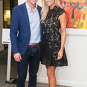 No Repro Fee<br /> 02/04/2015<br /> Pictured at the Spinal Injuries Ireland Lunch at the Marker Hotel, Dublin were<br /> Rosanna Davison (left) and husband Wesley Quirke.<br /> Pic: Alan Rowlette