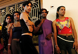"Indian transgenders. As transgenders,""hijras"" in local terms, are acutely marginalized in Indian society, the major earning avenues for them are sex work, begging and performing at rituals."
