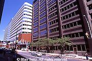 Harrisburg, PA, Market Street, Rachel Carson Bldg. (l), Urban Renewal