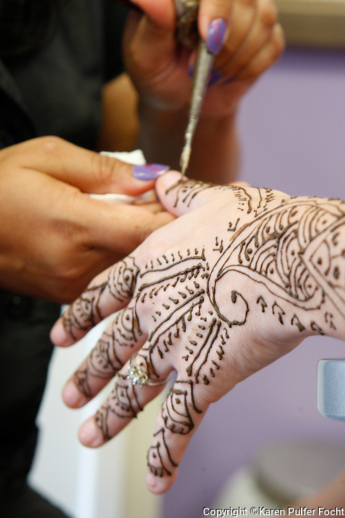 Henna Tattoos are used in celebrations in Pakistan and India. They are becoming popular in the United States.