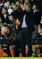 Photo: Tom Dulat.<br /> <br /> Tottenham Hotspur v Blackpool. Carling Cup. 31/10/2007.<br /> <br /> New manager of Tottenham Hotspur Juande Ramos.