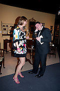 LENA BJORCK; SIMON SWIFT, Bada Antiques Fine art Fair charity Gala. In aid of Leukaemia and Lymphoma Research. 18 March 2010.