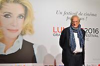 Bertrand Tavernier<br /> Lyon 8 oct 2016 - Festival Lumi&egrave;re 2016 - C&eacute;r&eacute;monie d&rsquo;Ouverture<br /> 8th Film Festival Lumiere In Lyon : Opening Ceremony