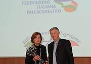 MILANO 13 MARZO 2011<br /> FIP HALL OF FAME<br /> NELLA FOTO SIGNORA MARTOLINI<br /> FOTO CIAMILLO